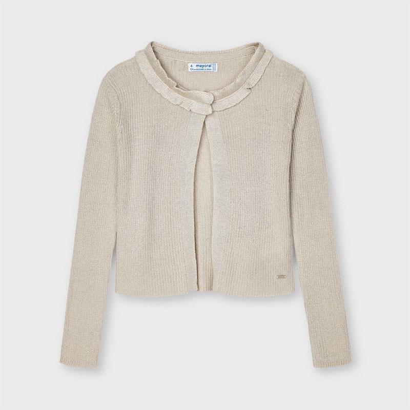 Cuello redondo. Modelo de nuestra colección de prendas básicas con diseño clásico, ideales para completar cualquier conjunto. Cierre con un único botón en el escote delantero. Tejido de punto tricotosa fino de tacto suave y agradable.